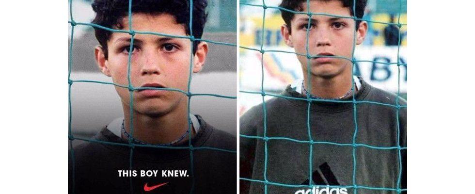 Nike wirbt mit Ronaldo im Adidas-Pullover – Peinlicher Fauxpas oder gekonnter Viral-Hit?