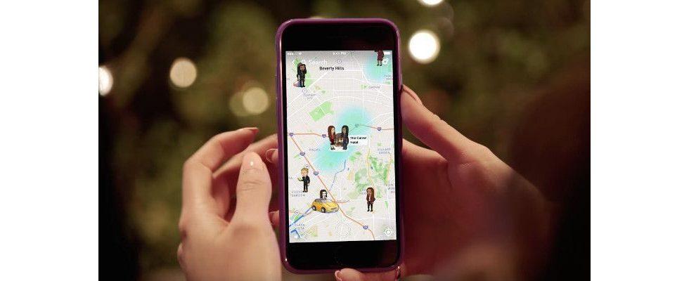 Snapchat: Mit Snap Map und Warner-Deal gegen die Bedeutungslosigkeit