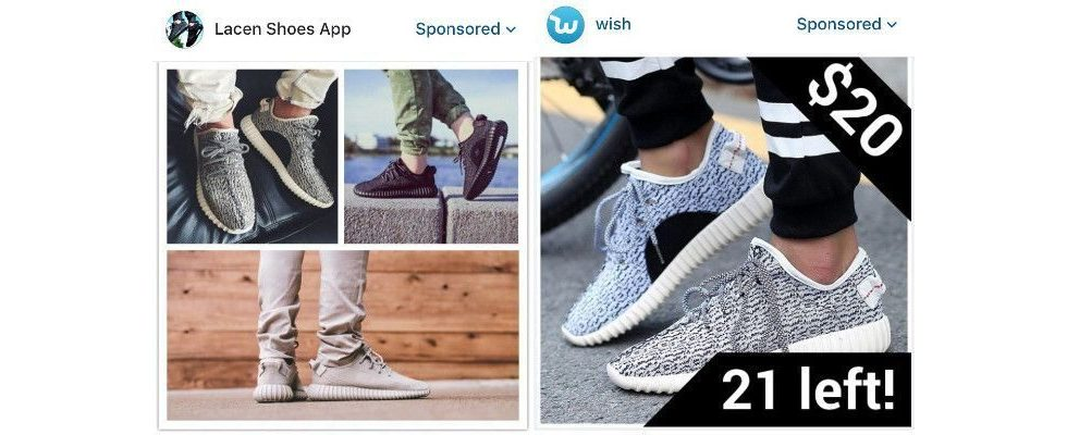 Fake-Ads machen sich auf Instagram breit – und verärgern User wie Marken