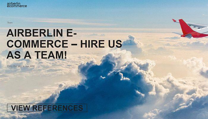 HireUsAsATeam - Das komplette Air Berlin E-Commerce Team sucht einen ...