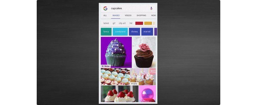 Google Bilder eifert Pinterest nach: Mit Badges findest du bald mehr als nur Bilder