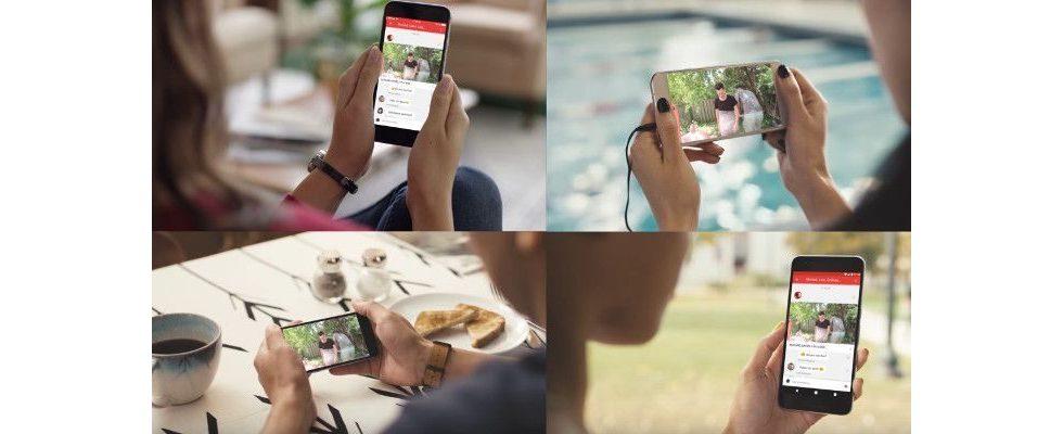 YouTube wird zum Mobile Messenger