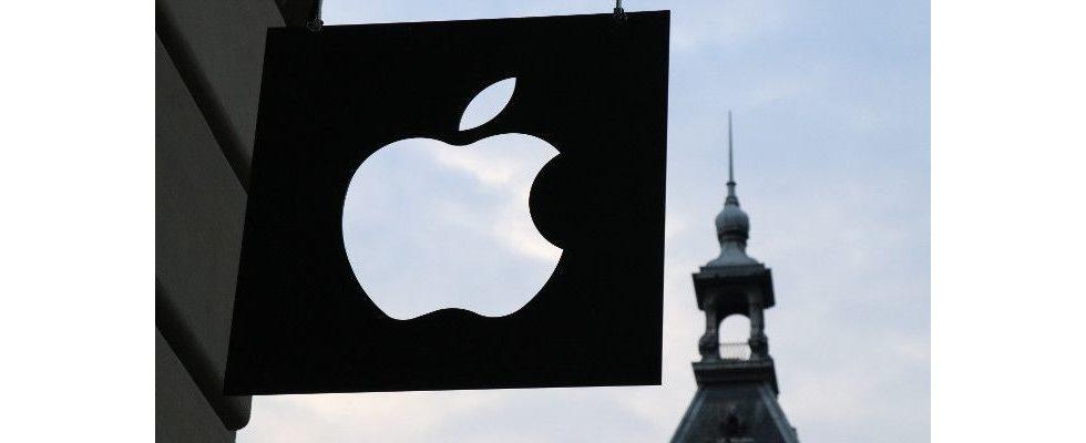 Neuer Umsatzrekord: Apples Quartalszahlen übertreffen Erwartungen