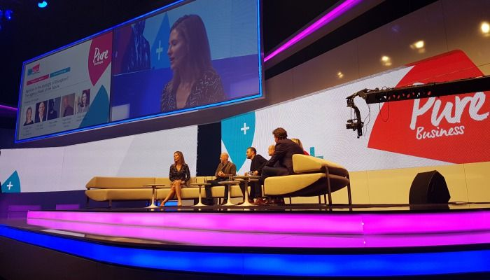 """""""Pure Business"""" on stage - die DMEXCO 2017"""