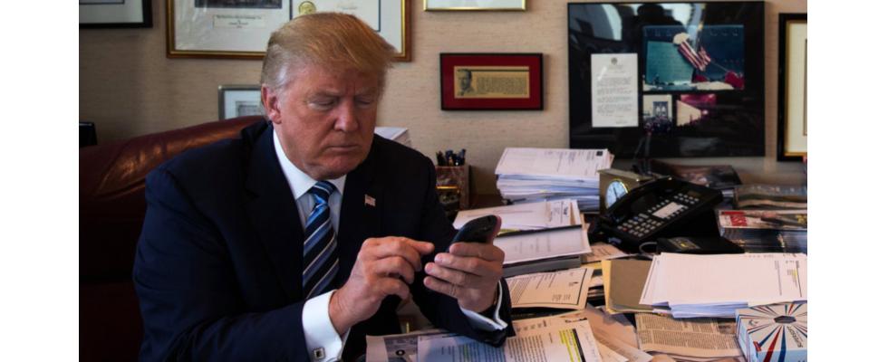 Darum löscht Twitter keine Tweets von Donald Trump