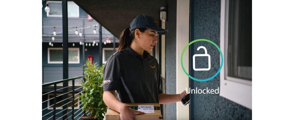 Nie mehr Pakete beim Nachbarn: Amazon Key lässt den Boten in deine Wohnung – jederzeit
