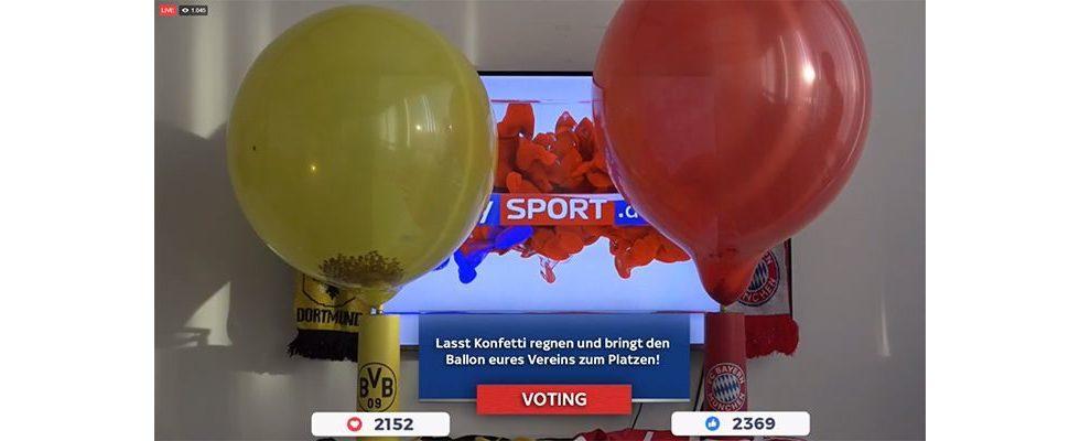 Welcher Ballon platzt als erstes? – Sky Sport nutzt Facebook Live Hype gekonnt für hohe Interaktionsraten