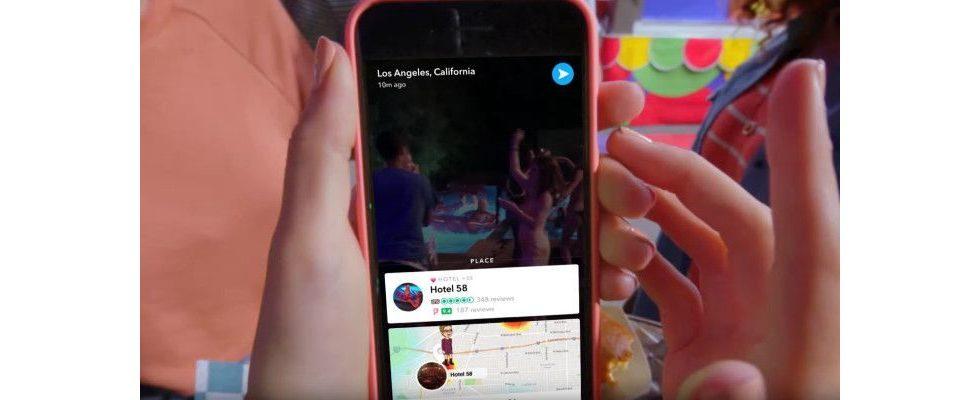 Snapchat Marketing: Context Cards bringen Unternehmen in die Snaps