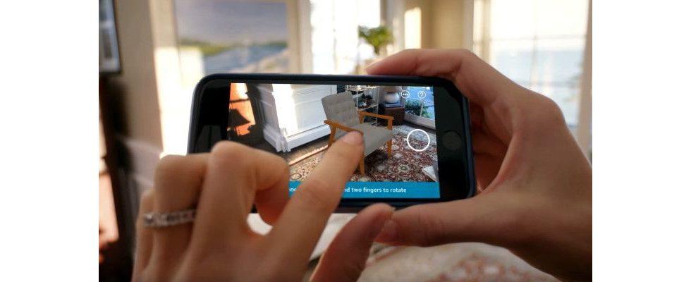 AR Shopping mit Amazon: Schau dir die Produkte in deiner Wohnung an – vor dem Kauf