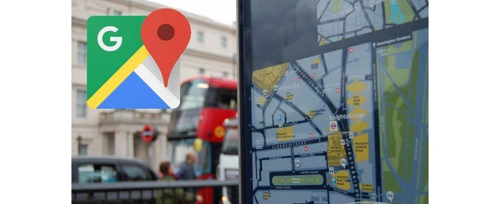 Google Maps Redesign: Neue Icons und intelligentere Karten