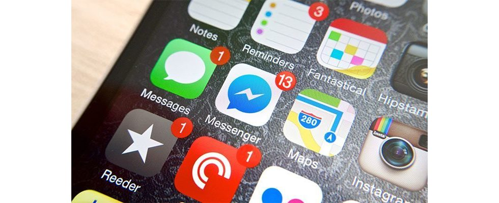 Facebook testet Massenwerbung in der Messenger App
