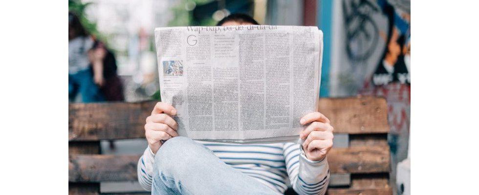 Offline gegen Adblocker: Diese Bank druckt ihren Online-Werbebanner eiskalt in einer Zeitung