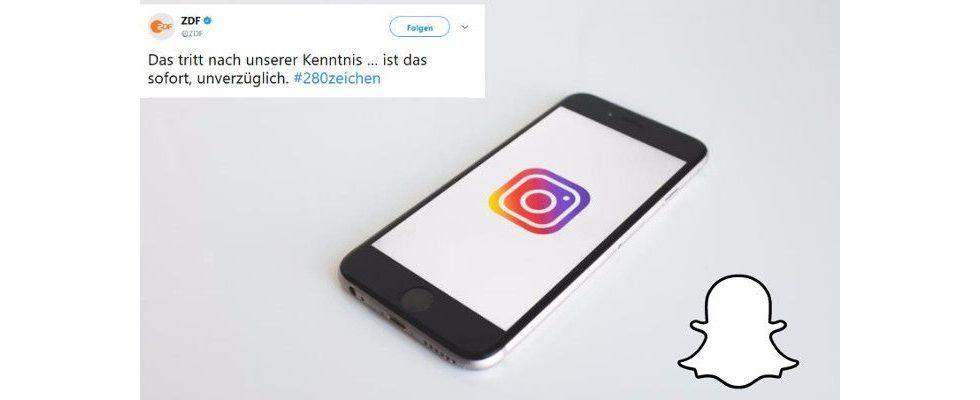 Social Media News: Re-Design für Snapchat, mehr Zeichen bei Twitter und Sponsor-Tags für Instagrammer