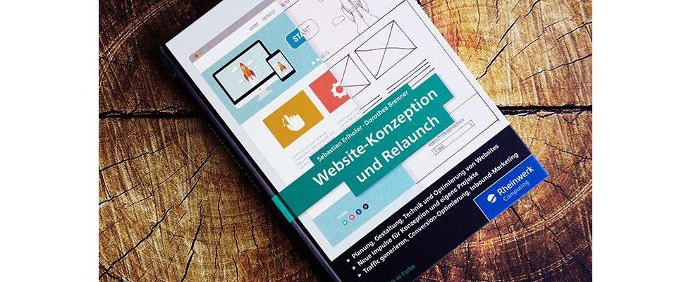Buchverlosung: Website-Konzeption und Relaunch