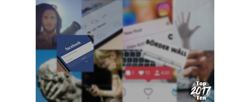 Top Ten 2017: Platz 2 – Facebook, Instagram, Snapchat & Co.: Diese Trends werden 2017 dominieren