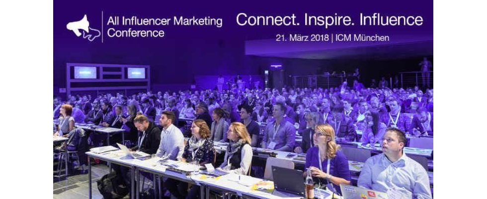 All Influencer Marketing Conference München 2018