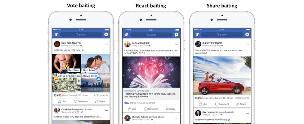 Warum die Herabstufung von Engagement Bait auf Facebook eigentlich nichts Gutes verheißt