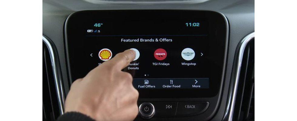 Kaffee mit dem Auto bestellen – So monetarisiert General Motors die Fahrt zur Arbeit