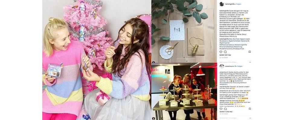 Kampagnen-Check: Wie Aldi Süd, Milka und Ikea zu Weihnachten auf Influencer setzen