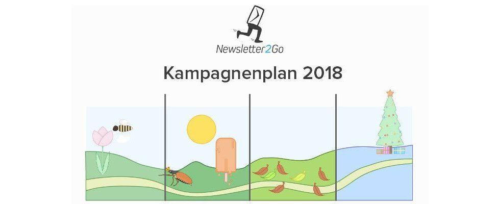 E-Mail-Marketing-Kampagnen für über 24 Anlässe: Der Kampagnenplan 2018 von Newsletter2Go