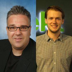 Marcus Obermeier und Felix Neuchl