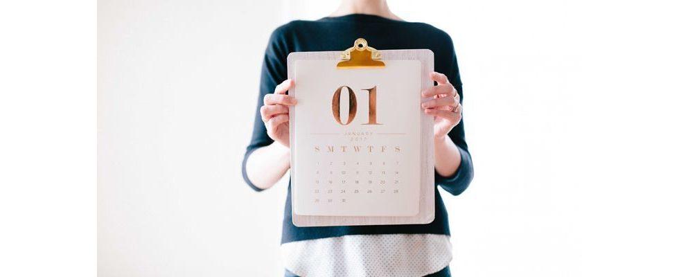 Content Kalender 2019: Die wichtigsten Aktionstage & Ereignisse für deine Kampagnen