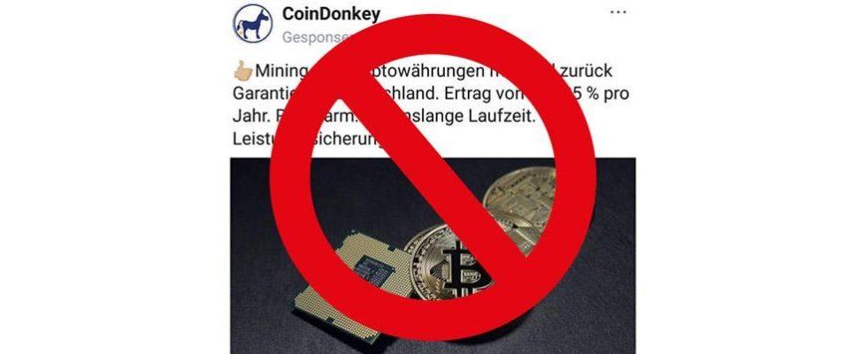 Aus für Bitcoin-Werbung: Facebook und Instagram verbannen Ads für Kryptowährungen