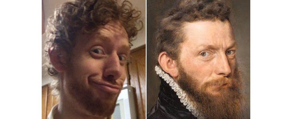 Google findet deinen Doppelgänger in historischen Gemälden