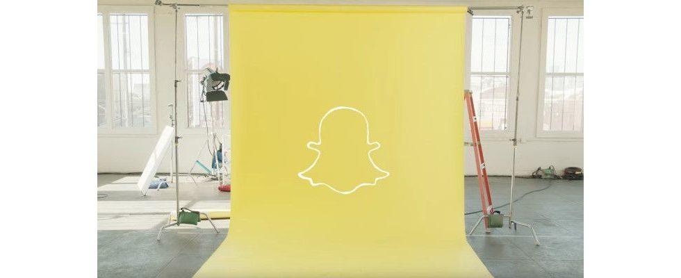 Snapchat in Zahlen: App verzeichnet 39 Prozent Umsatzplus