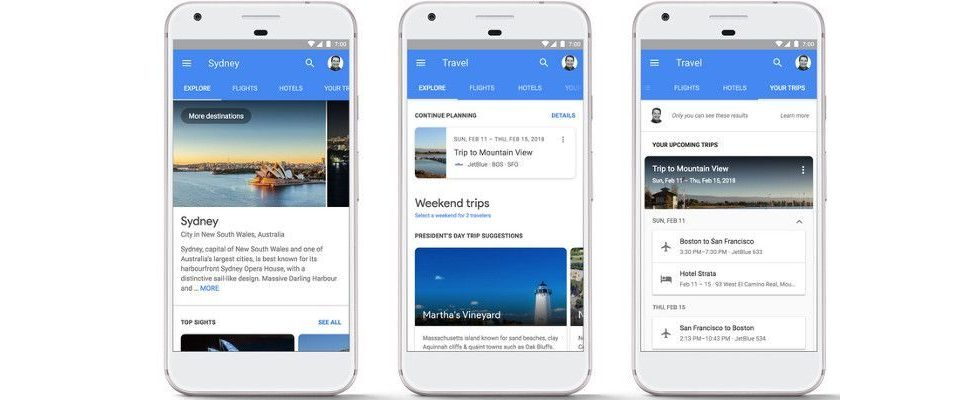 Google Update: Hotels und Flüge jetzt mobil direkt aus den SERPs buchen