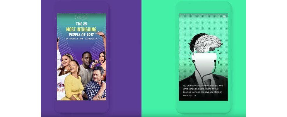Google bringt AMP Stories: Visuelles Storytelling für News in der mobilen Suche