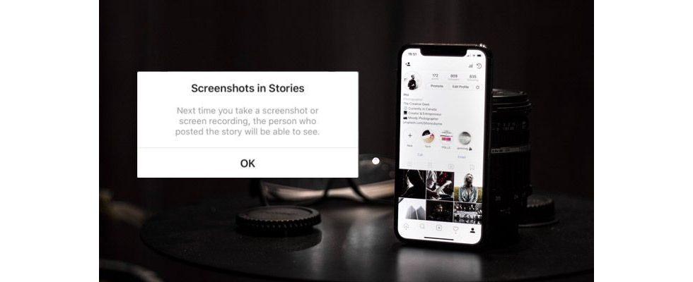 Instagram könnte User bald über Screenshots in den Stories benachrichtigen