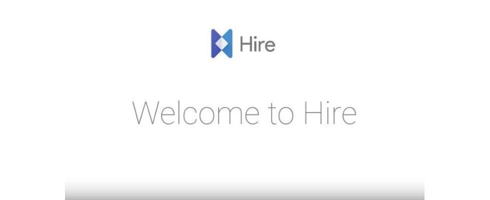 Google macht Recruiting jetzt einfacher: Hire-Erweiterung in der Beta-Version