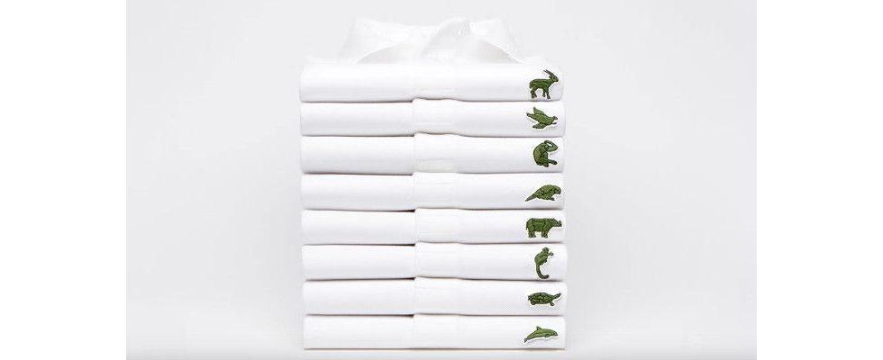 Lacoste tauscht Markenzeichen gegen bedrohte Tierarten