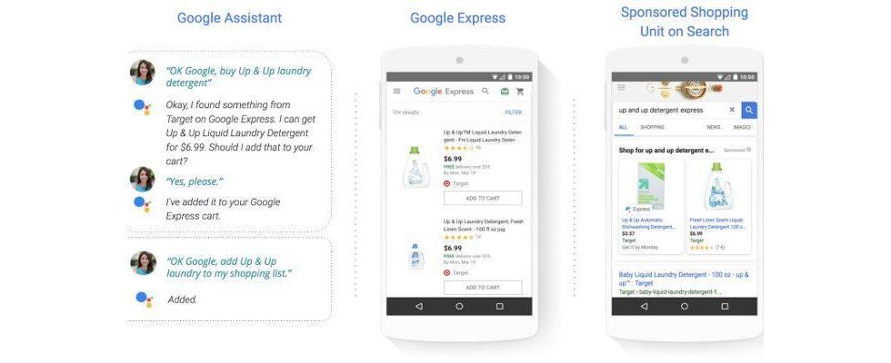 Googles Shopping Actions vereinfacht Produktkauf in der Suche – organisches Ranking nicht beeinflusst