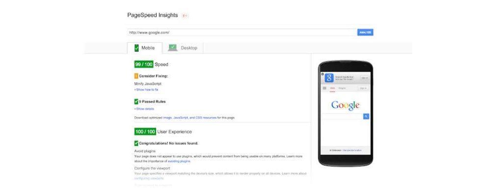 Google bestätigt Nutzerdaten aus Chrome als Maßstab für Page Speed