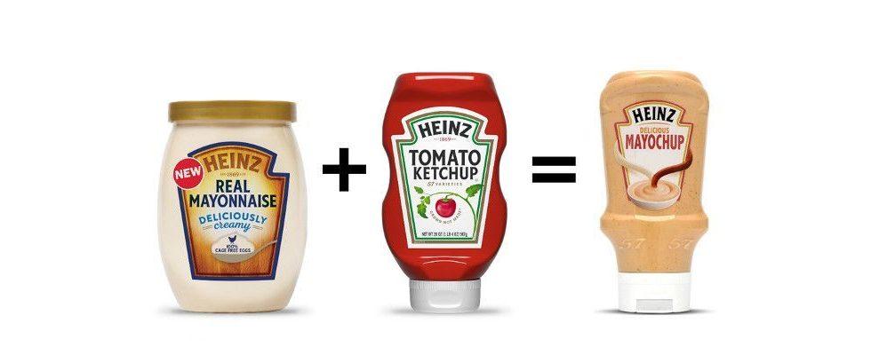 Die Soßenrevolution: Heinz bringt Mayochup auf den Markt