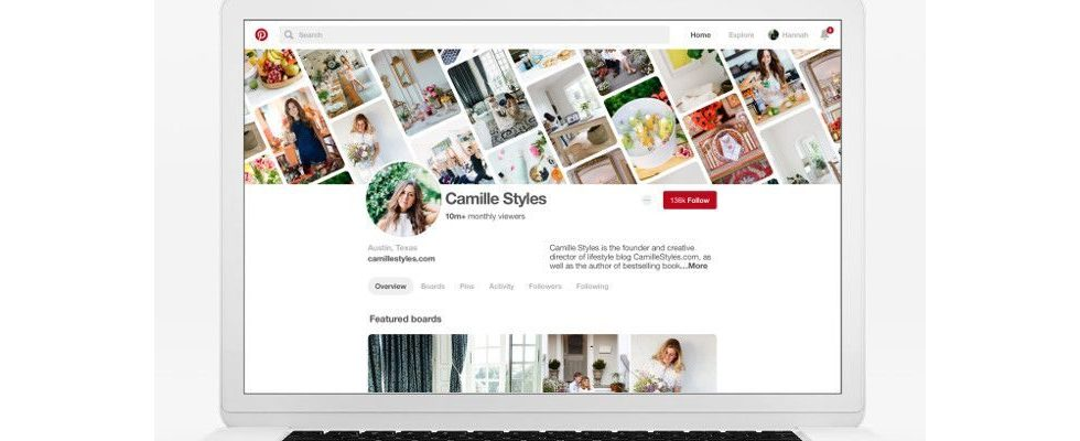 Pinterest Design Update: Business-Profile bekommen neue Features