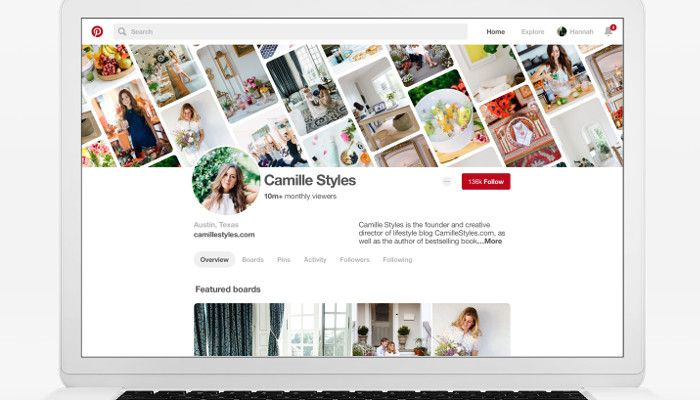 Pinterest Design Update: Business-Profile bekommen neue Features | OnlineMarketing.de