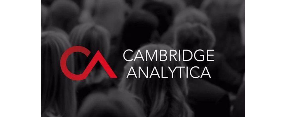 Cambridge Analytica stellt die Arbeit ein