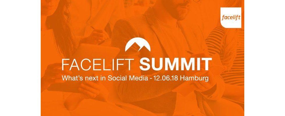 Facelift Summit: Social Media Insights von den Besten