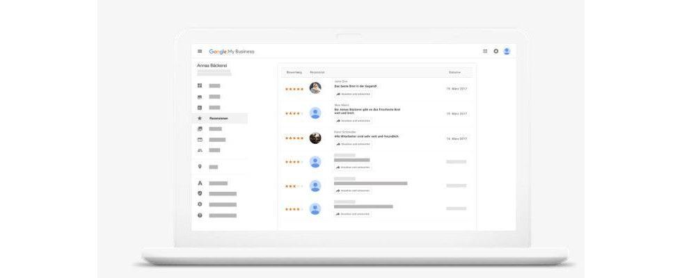 Google My Business benachrichtigt Kunden, wenn Unternehmen ihre Reviews beantworten