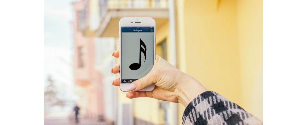 User finden Anzeichen für neues Musik Feature auf Instagram