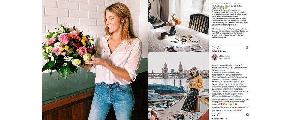 Influencer Marketing: So setzen Deutsche Post, Fleurop und HejPix zum Muttertag auf Influencer