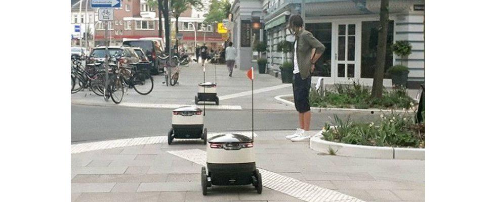 Roboter erobern die Straßen: Ist das die Zukunft des Liefergeschäfts?