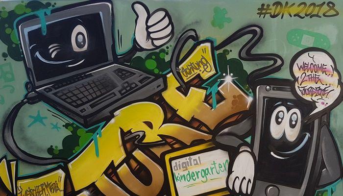 Digitales zum ausprobieren für Marketer: Digital-Kindergarten
