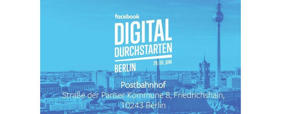 Facebooks Digitalisierungsinitiative kommt nach Berlin
