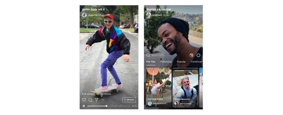 Instagram launcht IGTV: Sieht so das Mobile TV der Zukunft aus?