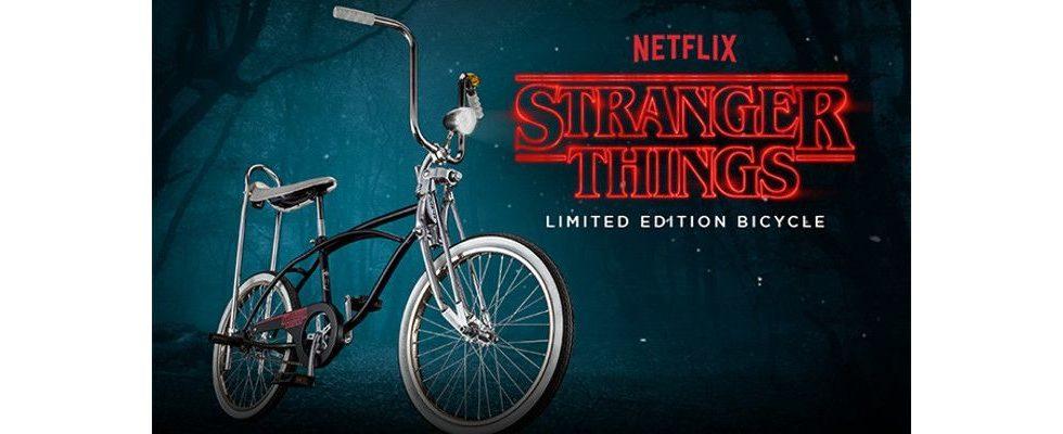 Marketing-Coup im 80er Flair: Stranger Things Fahrrad wird zum Social Hit