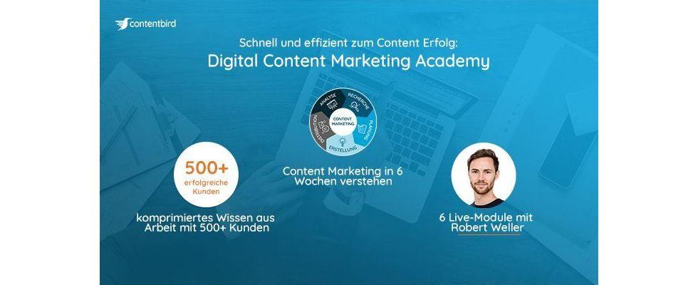 Die Digital Content Marketing Academy als Marketingretter